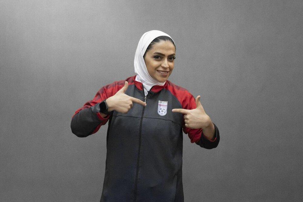 Iranian footballer Salimi optimistic about women's progress